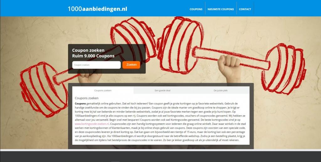 http://www.1000aanbiedingen.nl